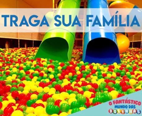 O Fantástico Mundo das Bolinhas - Serramar Parque Shopping