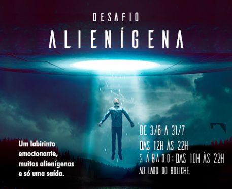 Programação Cultural de Férias: Desafio alienígena